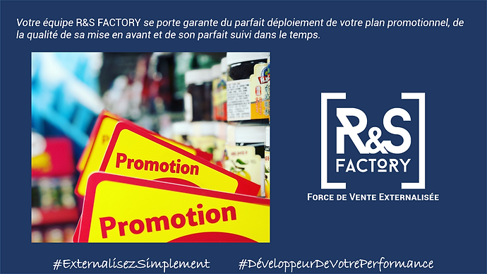 R&S FACTORY #ExternalisezSimplement #Dev