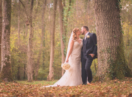 Louise & Lewis's Autumn Wedding at Marwell Hotel