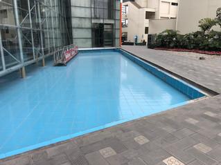 Impermeabilización de espejo de agua