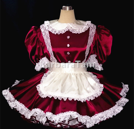 #A07 Adult Sissy Victorian Maids Dress