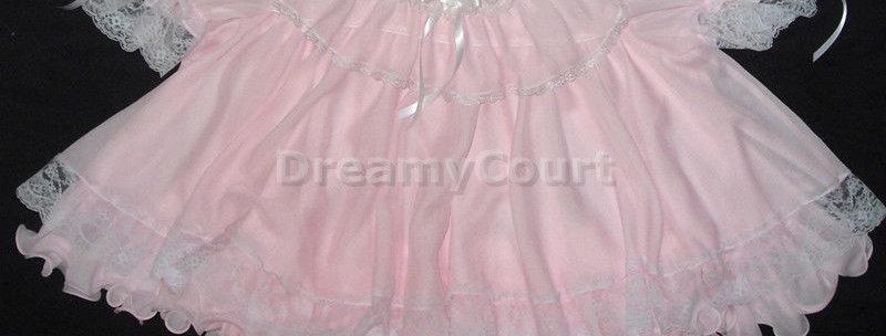 Adult Sissy Baby Flouncy Dress Set