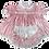 Thumbnail: Adult Baby Dots Heavy Satin Dress Full Set