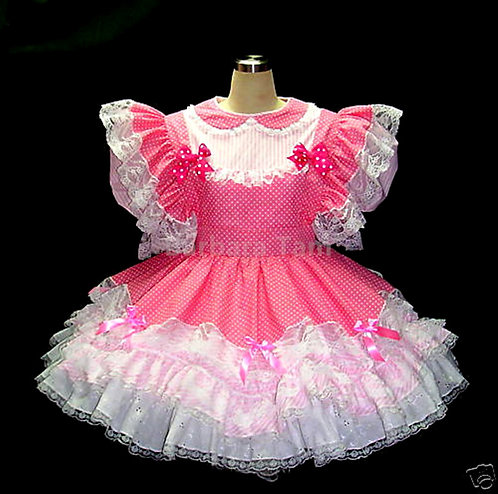 #C03 ADULT SISSY CANDY DRESS
