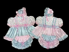 Ruffles Satin Dresses