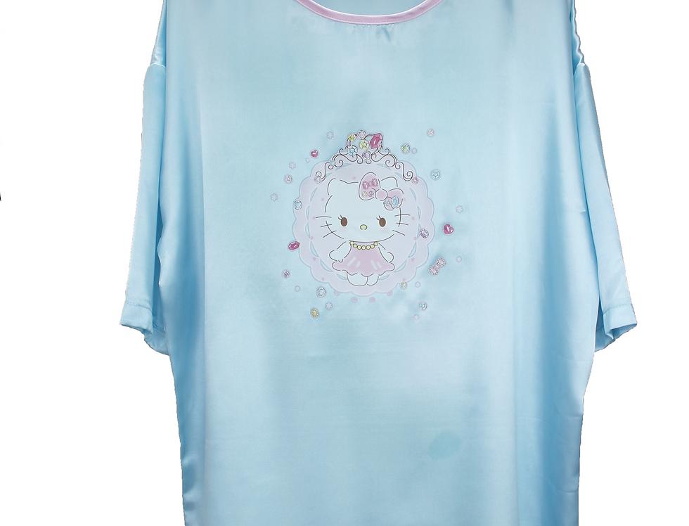 D & C Baby Girl Satin Nightie NT4