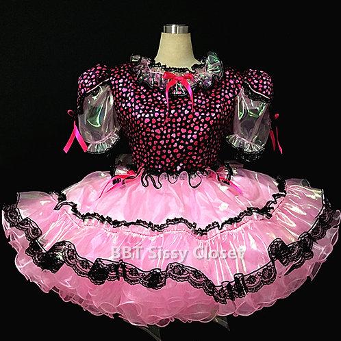 BBT Adult Sissy Sweet Heart Party Dress 01