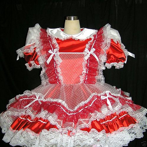 #C11 ADULT SISSY GIRL TEA DRESS