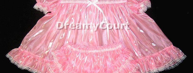 Adult Sissy Baby Mirror Organza Dress Set