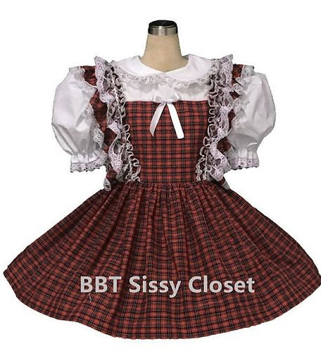 BBT ADULT SISSY SCHOOL DRESS S0803