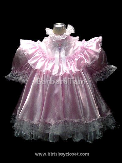 D18  BBT Adult Sissy Flouncy Baby Prissy Dress