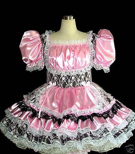 #B37 ADULT SISSY SEXY MAID DRESS