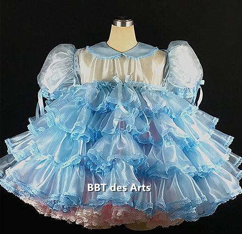 BBT ADULT SISSY BABY FRILLY RUFFLES DRESS