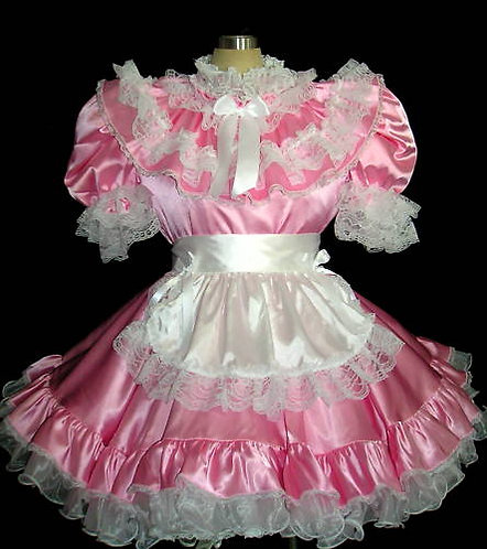 #B13 ADULT SISSY FRENCH MAIDS DRESS