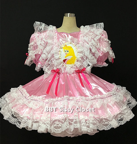 BBT Adult Sissy Princess Party Dress 02