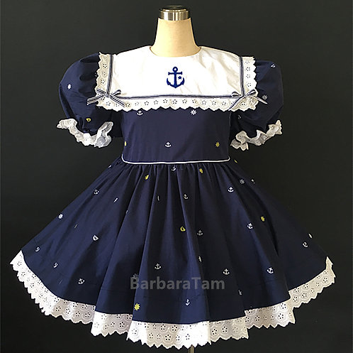 A17 BBT Adult Sissy Sailor baby Pay Dress