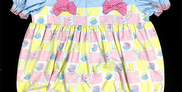 ADULT SISSY BABY BUBBLE ROMPER