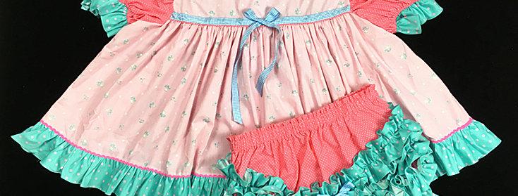 Adult Sissy Baby Dress Set