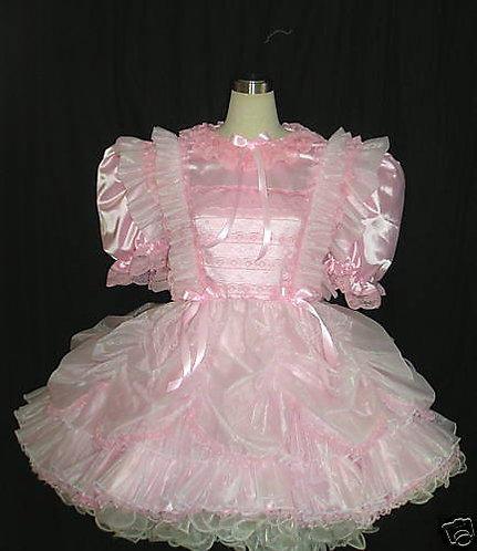 #C10 ADULT SISSY PARTY DRESS