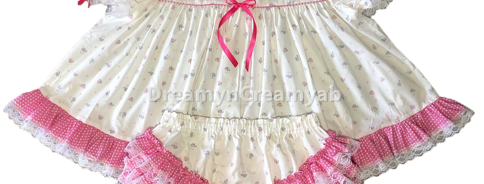 ADULT BABY DREAMY BABY BOTTLE DRESS SET
