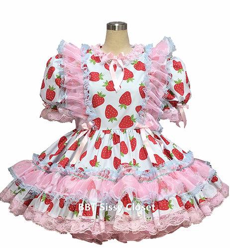 BBT Adult Sissy Strawberry Dress