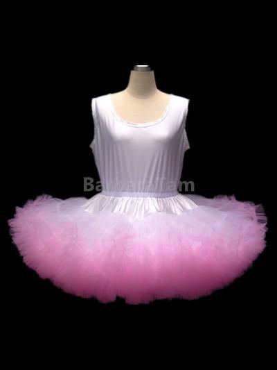 P09 BBT Adult Sissy Frilly Nylon Petticoat