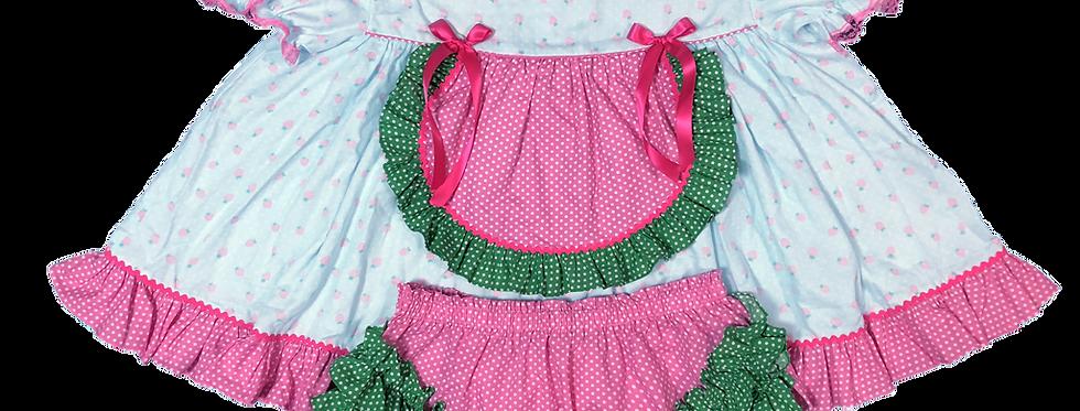 Adult Sissy Strawberry Dress Set II