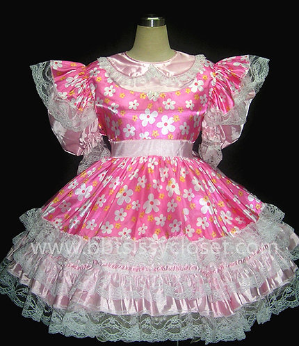 STK 09 ADULT SISSY SUMMER GIRL DRESS