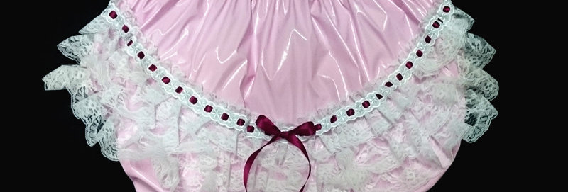 ADULT BABY PVC RUMBA PANTIES