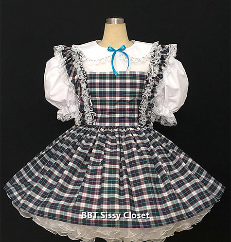 BBT ADULT SISSY SCHOOL DRESS
