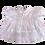 Thumbnail: D & C Adult Baby White Mirror Ruffles Dress