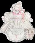 PVC White Dress Set