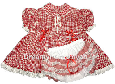 Gingham Baby Butt Dress
