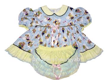 Baby Bear Dress Set
