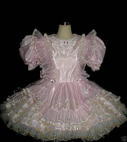 #C20 ADULT SISSY ORGANZA PARTY DRESS