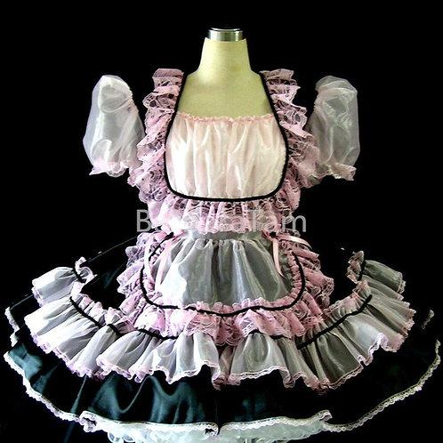 #B29 ADULT SISSY GOTHIC MAIDS DRESS