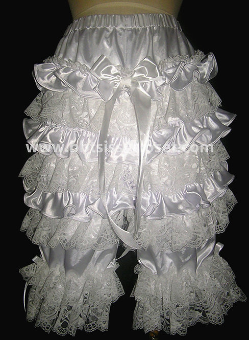 PT11 BBT Adult Sissy Victorian Ruffles Bloomers