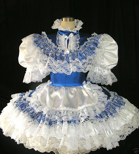 #B17 DULT SISSY FRENCH MAIDS DRESS