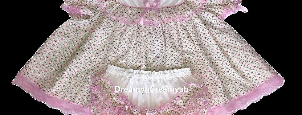 D & C Adult Baby Blossom Dress Set