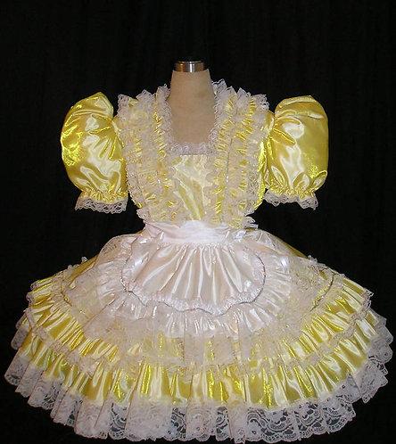 #B31 ADULT SISSY TAFFETA MAID DRESS