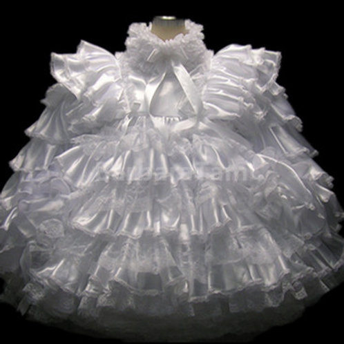 # D17 BBT Adult Sissy Prissy Wedding Taffeta Dress