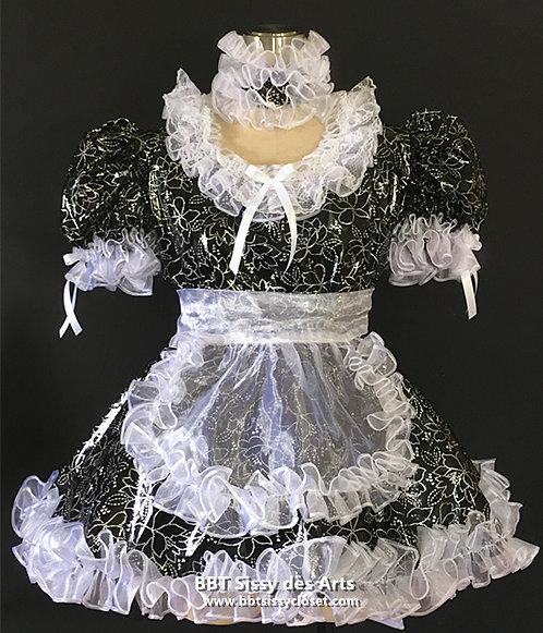 B64 BBT SISSY FRENCH PVC DOLLY MAID DRESS