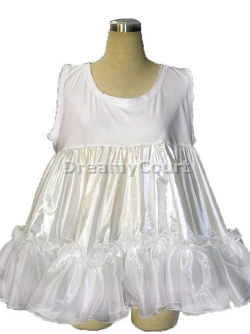 Adult Sissy Baby Frilly Ruffles Petticoat