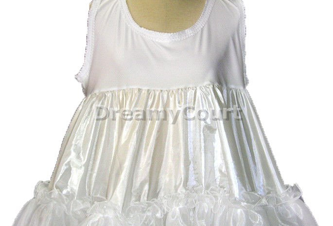 Adult Sissy Baby Frilly Ruffles Petticoat