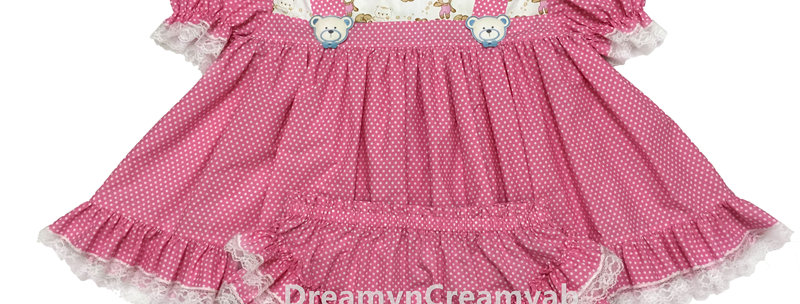 ADULT BABY BEAR  DRESS SET