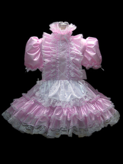 #03 ADULT SISSY FRENCH MAIDS DRESS