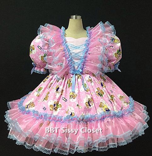 BBT Adult Sissy Baby Bear Party Dress 09