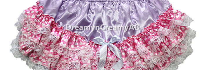 ADULT BABY SATIN RUMBA PANTIES ( PANTIES WITH NYLON PLASTIC LINED )