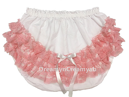 ADULT BABY Frilly Ruffles lace Panties