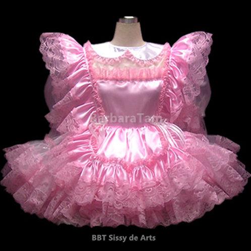 B53 BBT Adult Sissy Pink Maids Girl Dress