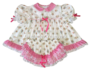 bunny baby dress
